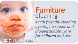 furniture repair and cleaning treatment